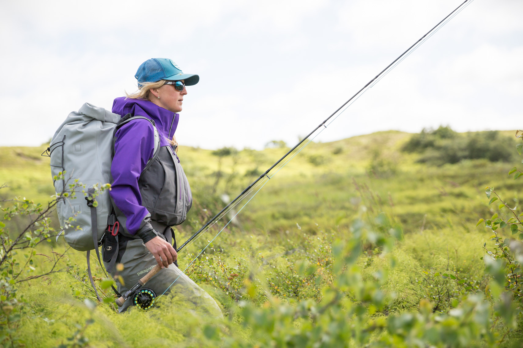 Kate Taylor Patagonia ambassador fishing Alaska Adventure