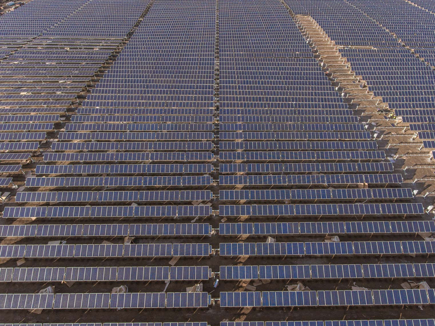 aerial solar farm by drone Oregon