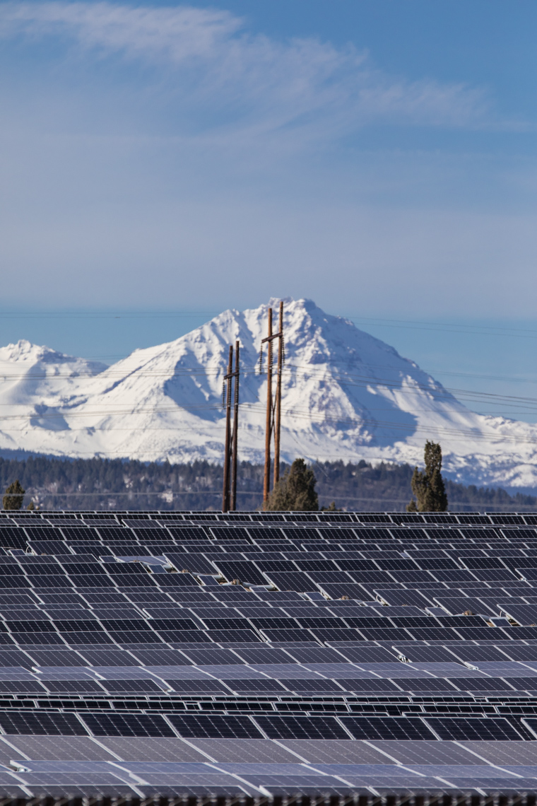 solar utilities of oregon