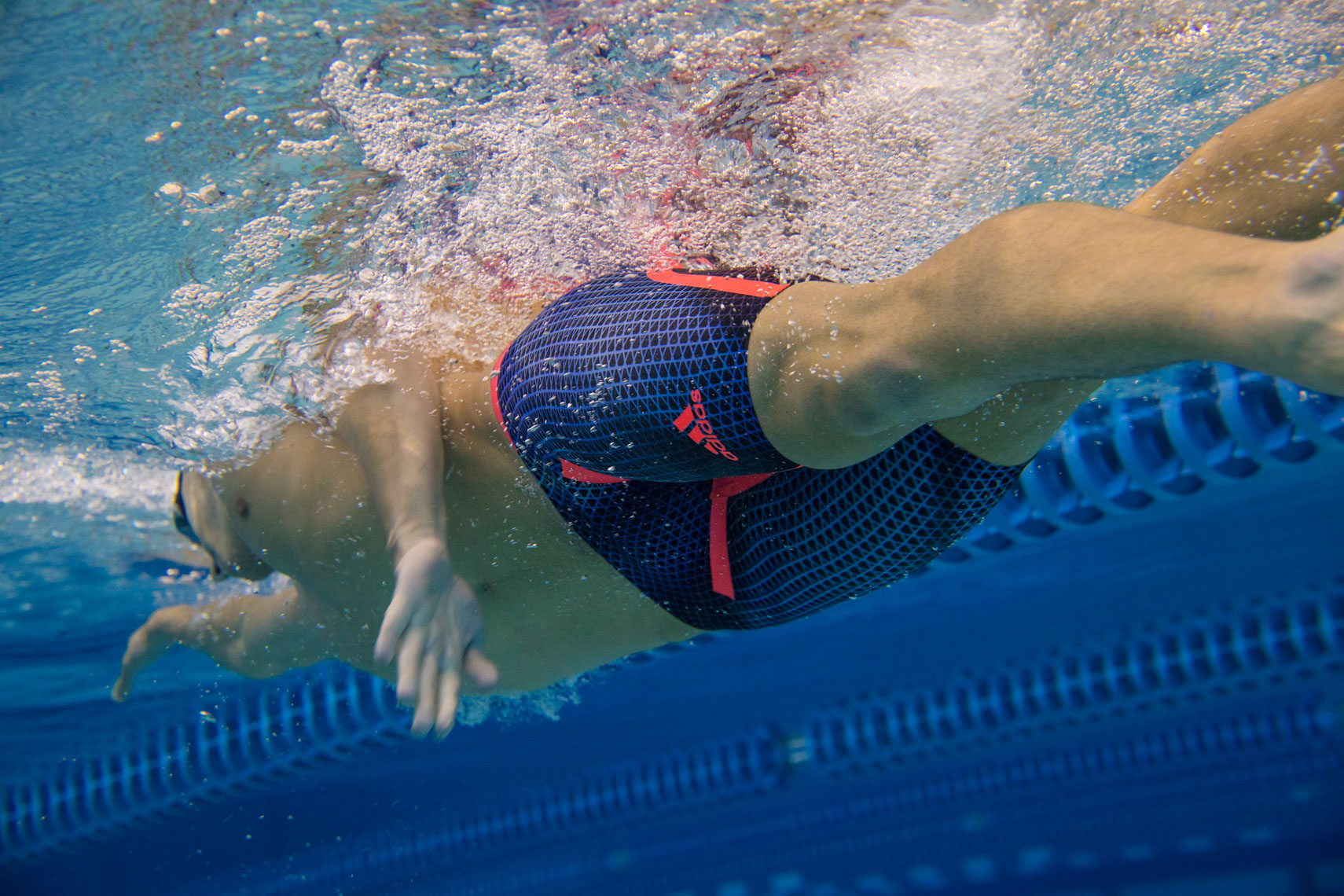 underwater swimsuit photographer Rich Crowder Adidas Olympian