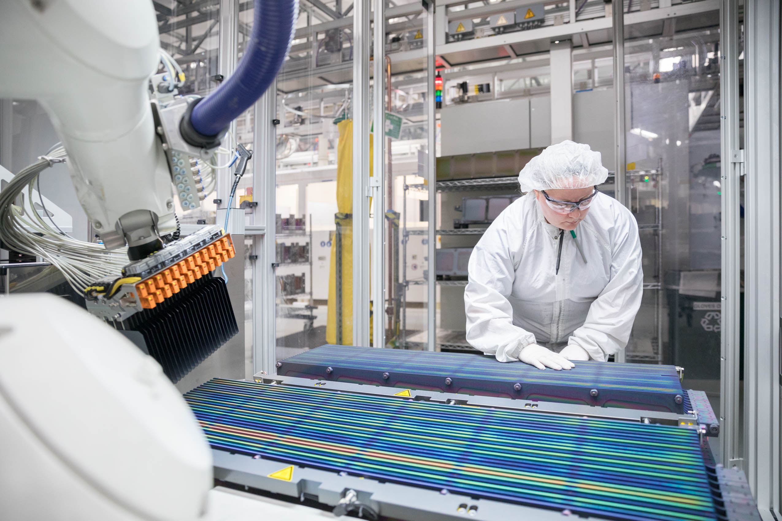 solar energy cells manufacturing